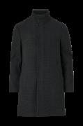 Frakke i uldblanding