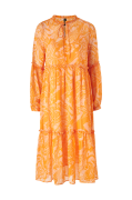 Kjole yasSwirly 3/4 Midi Dress