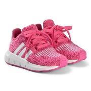 adidas Originals Pink Swift Run Trainers 36 (UK 3.5)
