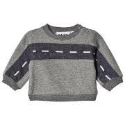Molo Drove Sweatshirt Grey Melange 56 cm (1-2 mdr)