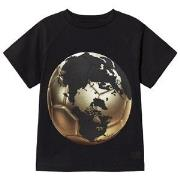 Molo Raines T-Shirt Football World Map 110 cm (4-5 år)