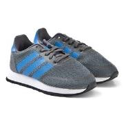 adidas Originals Grey and Blue N-5923 Sneakers 22 (UK 5.5)
