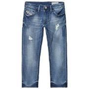 Diesel Blue Distressed Thommer Slim Skinny Jog Jeans 4 years