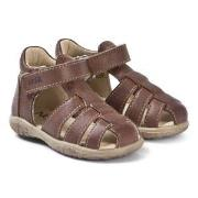 Noël Mini Tin Sandals Brown 21 (UK 4.5)