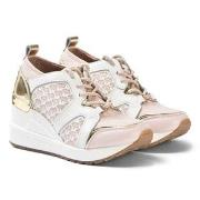 Michael Kors Wedge Sneakers Pink/Hvid 29 (UK 11)
