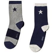 Molo Nitis 2-Pack Socks Sailor 35-38 (8-10 år)