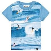 Molo Raven T-Shirt Surfers print 92 cm (1,5-2 år)