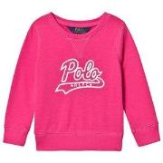 Ralph Lauren Polo Graphic Sweater Pink 2 years