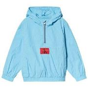 Calvin Klein Jeans Pale Blue Packable Anorak with Bumbag 4 years