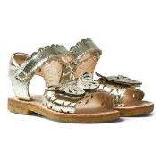 Angulus Gold Butterfly Open Toe Sandals 30 (UK 12)